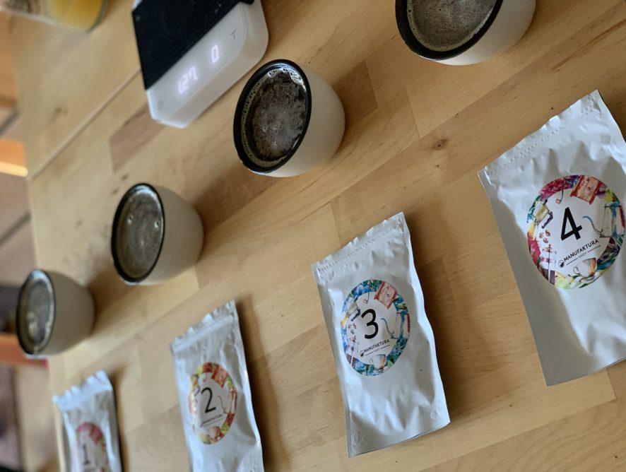 Tajemniczy cupping z Manufakturą Kawy